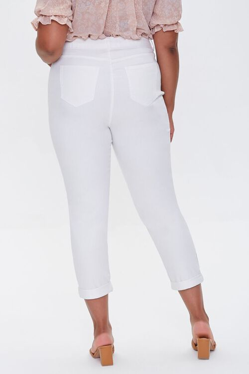 Plus Size Boyfriend Jeans, image 4