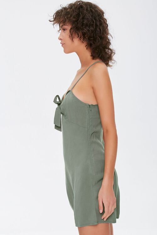 Knotted Bow-Front Cami Mini Dress, image 2