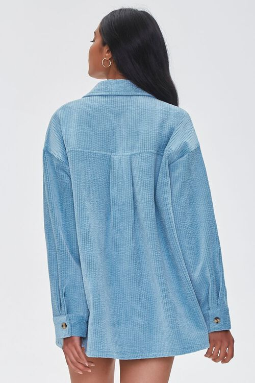 Textured High-Low Shacket, image 3