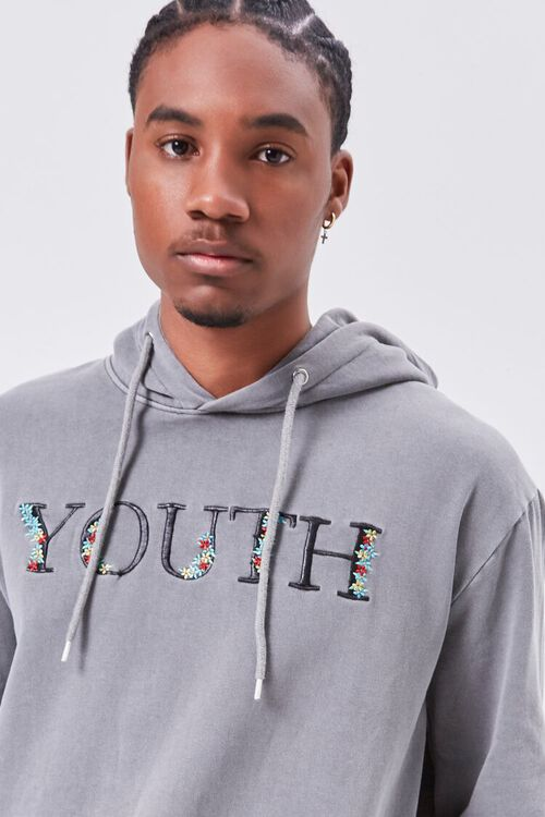 Youth Embroidered Graphic Hoodie, image 5