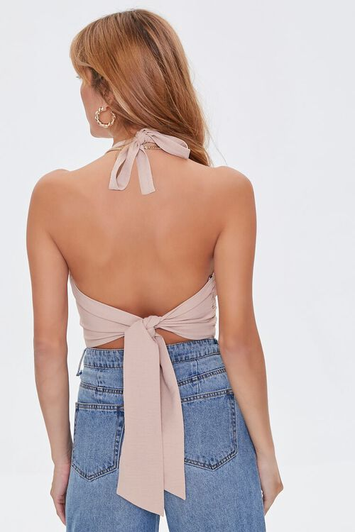 Sweetheart Knotted Halter Top, image 4