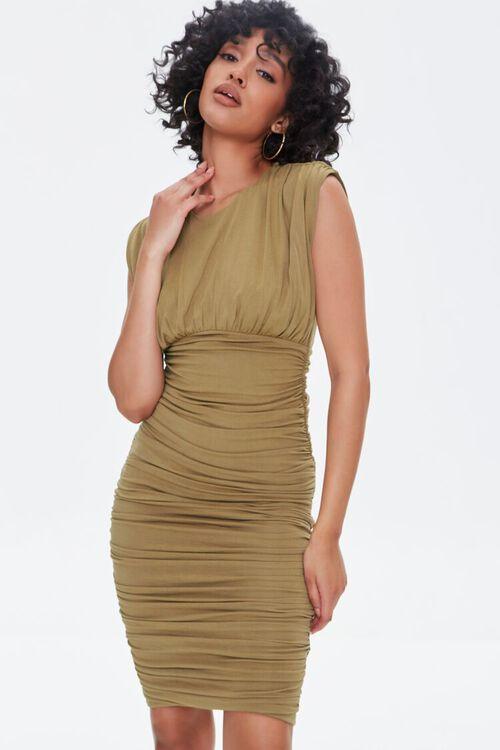 Shirred Bodycon Dress, image 2