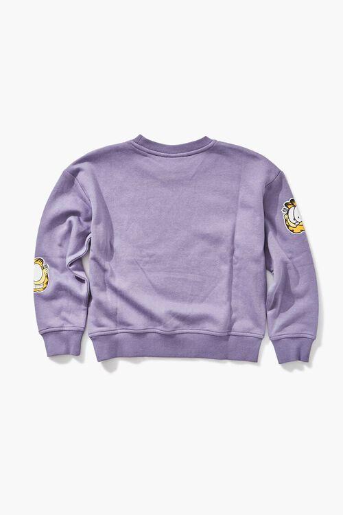 PURPLE/MULTI Girls Garfield Graphic Sweatshirt (Kids), image 2