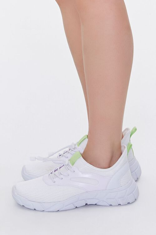 Recycled Lace-Up Low-Top Sneakers, image 2
