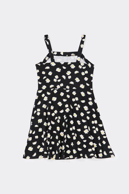 Girls Daisy Skater Dress (Kids), image 2
