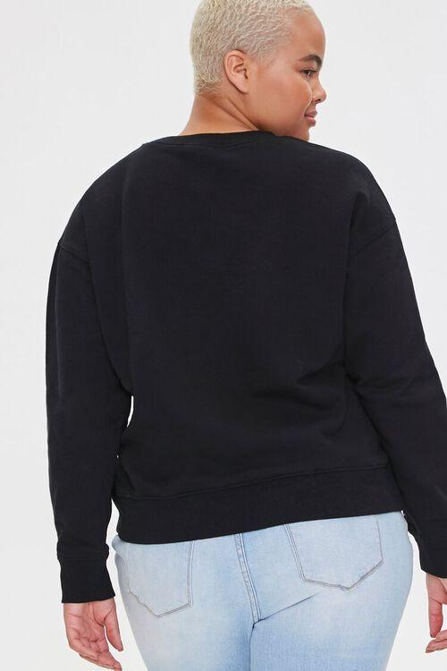 Plus Size Stormy Nesbit Art Graphic Pullover, image 3
