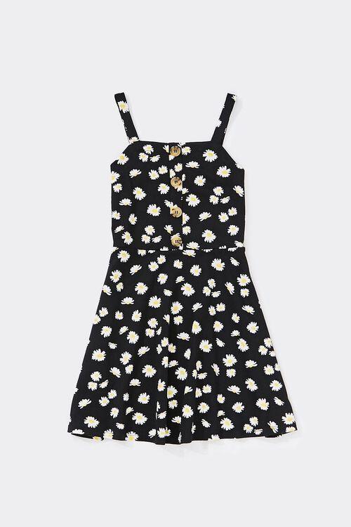 Girls Daisy Skater Dress (Kids), image 1