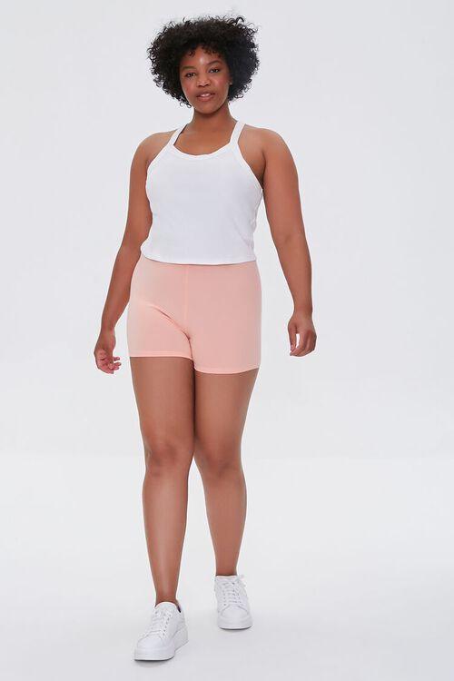 APRICOT Plus Size Basic Organically Grown Cotton Hot Shorts, image 5