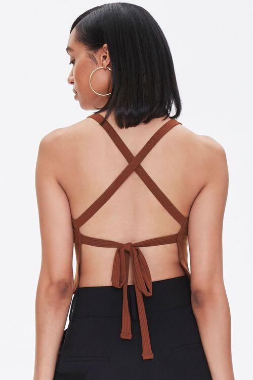 Self-Tie Crisscross Cami, image 4
