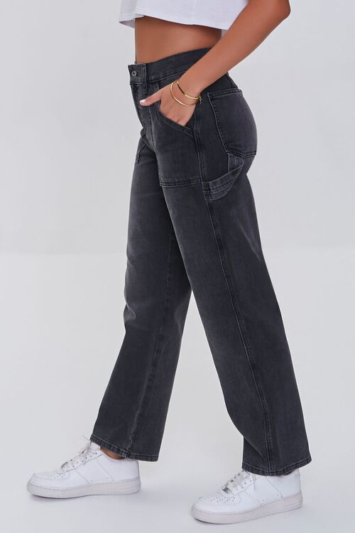 High-Rise Cargo Jeans, image 3