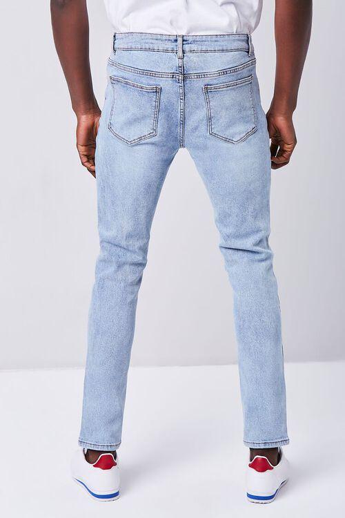 MEDIUM DENIM Stonewash Skinny Jeans, image 4