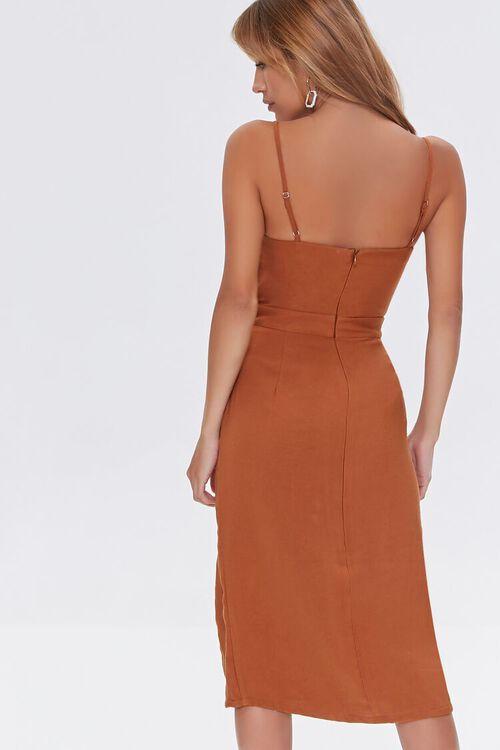 Cutout Side-Slit Midi Dress, image 3