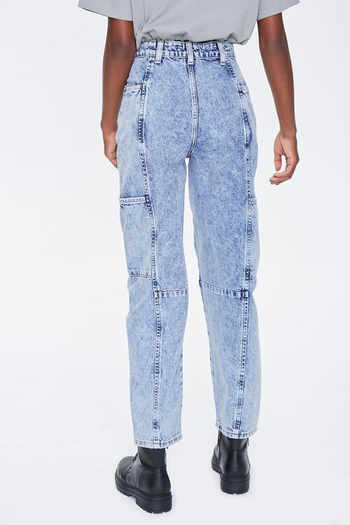 Relaxed Acid Wash Jeans, image 4