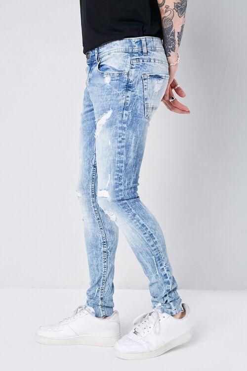 LIGHT DENIM XRay Distressed Stonewash Jeans, image 3
