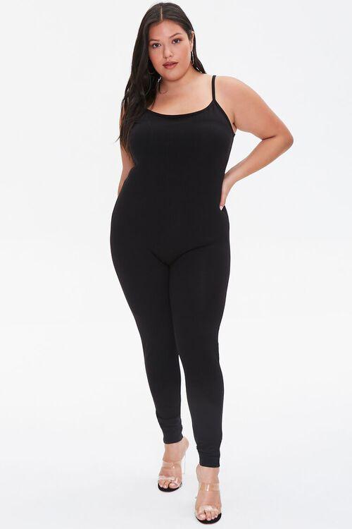 Plus Size Cami Jumpsuit, image 1