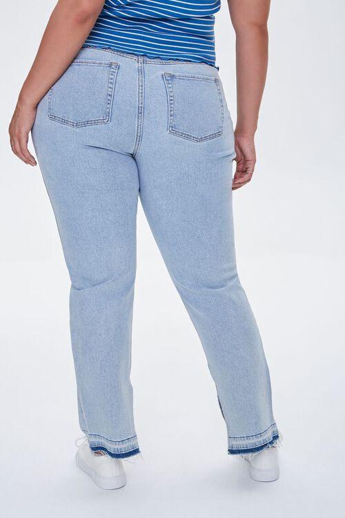 Plus Size Release-Hem Jeans, image 4