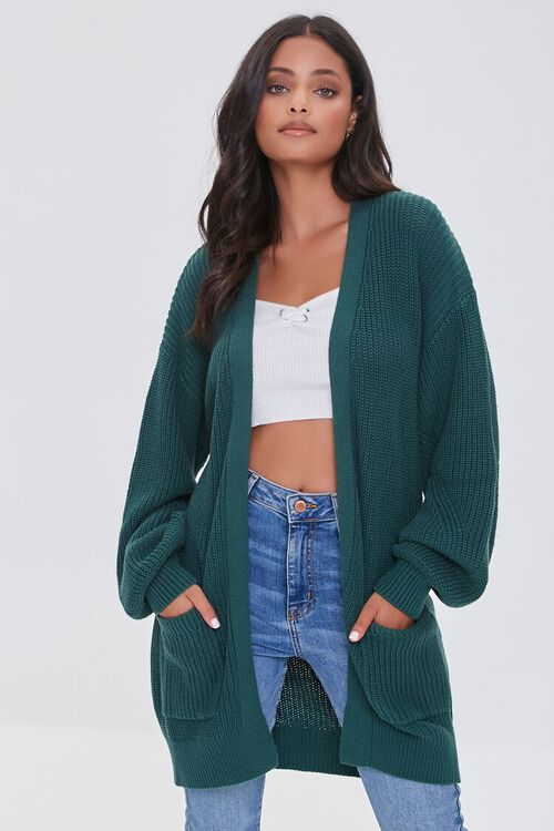 Open-Front Cardigan Sweater, image 1