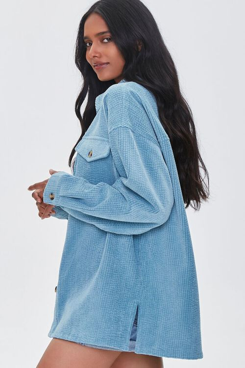 Textured High-Low Shacket, image 2