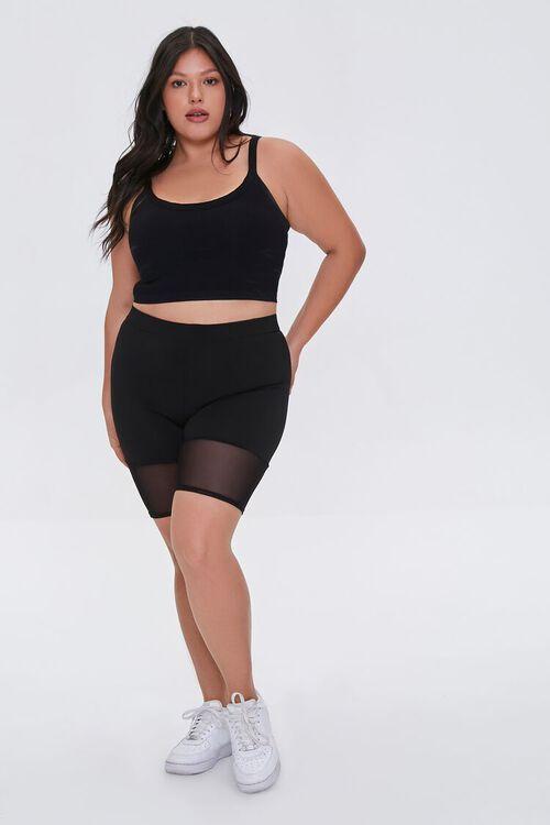 Plus Size Longline Sports Bra, image 4