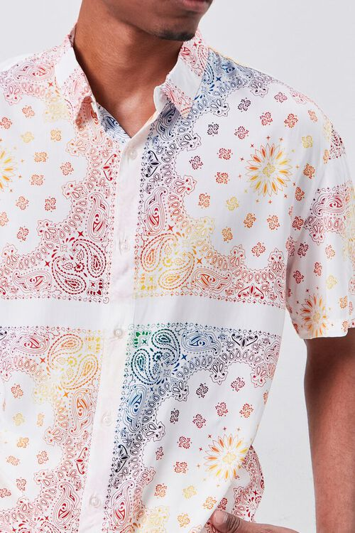 Classic Fit Ornate Print Shirt, image 5
