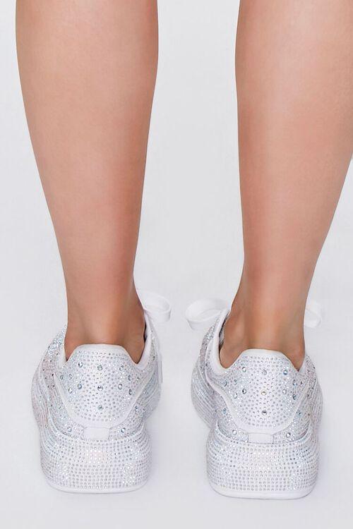 Rhinestone-Embellished Low-Top Sneakers, image 3