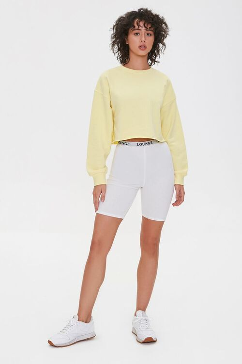 French Terry Drop-Sleeve Pullover, image 4