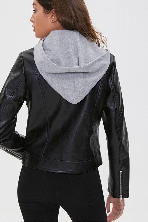 Hooded Moto Jacket, image 4