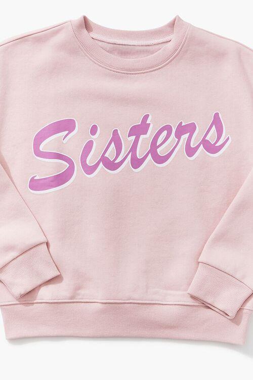 PINK/MULTI Girls Sisters Sweatshirt (Kids), image 3