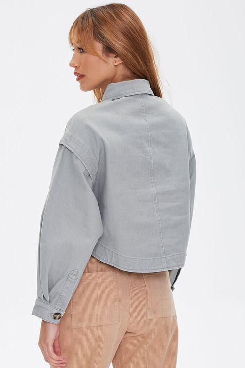 Cotton Button-Up Jacket, image 3