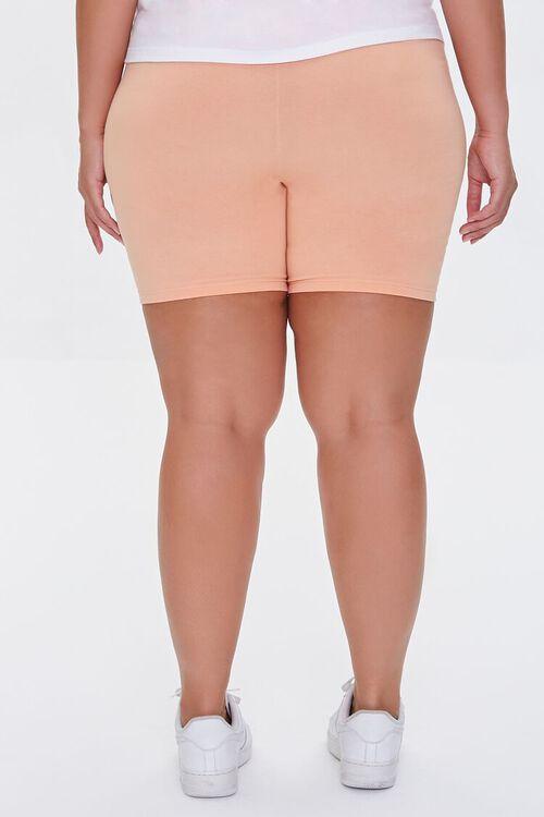 Plus Size Organically Grown Cotton Biker Shorts, image 4