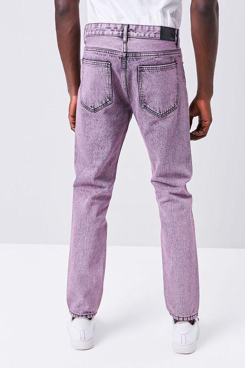 PINK/BLACK Stonewashed Slim-Fit Jeans, image 4
