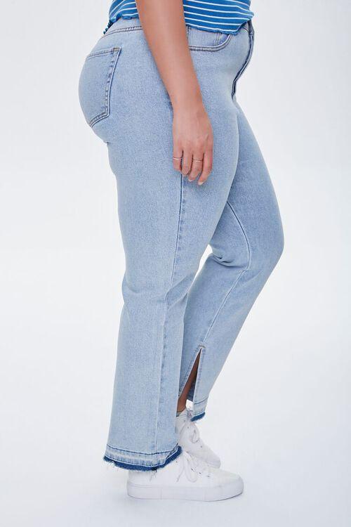 Plus Size Release-Hem Jeans, image 3