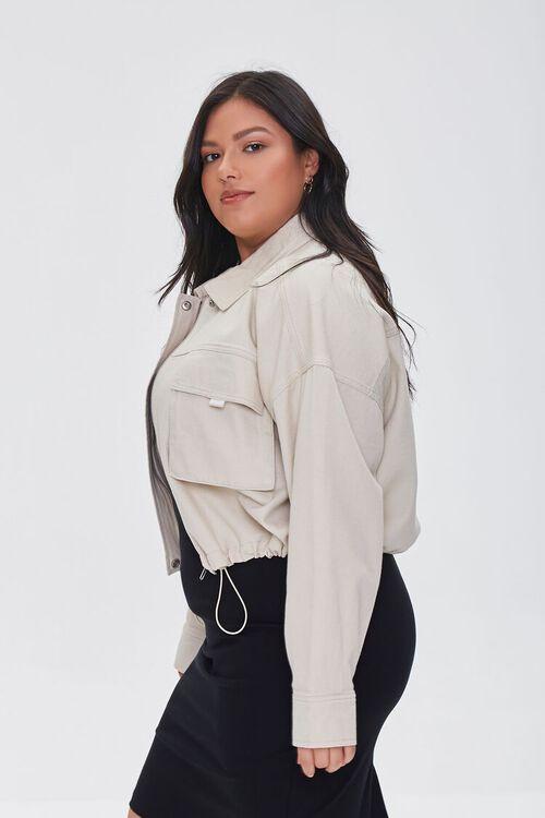 Plus Size Drop-Sleeve Jacket, image 2