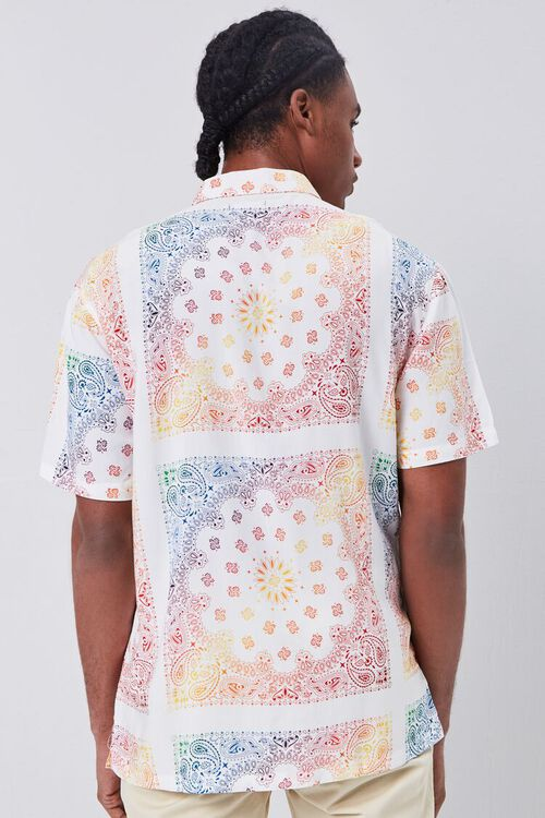 Classic Fit Ornate Print Shirt, image 3