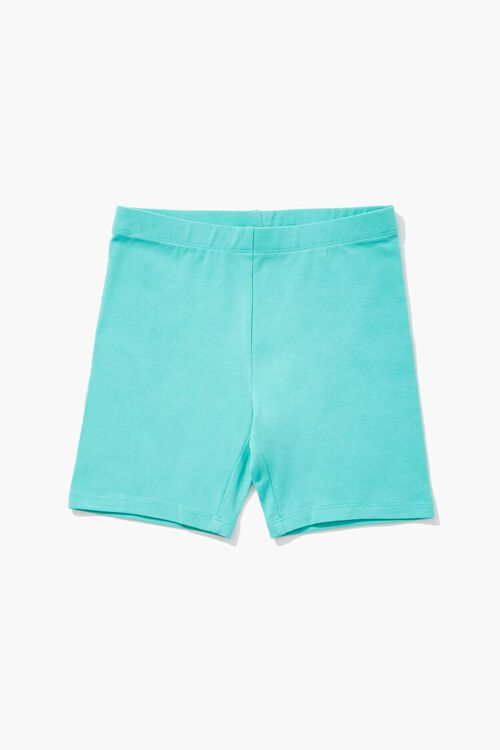 Girls Organically Grown Cotton Biker Shorts (Kids), image 1
