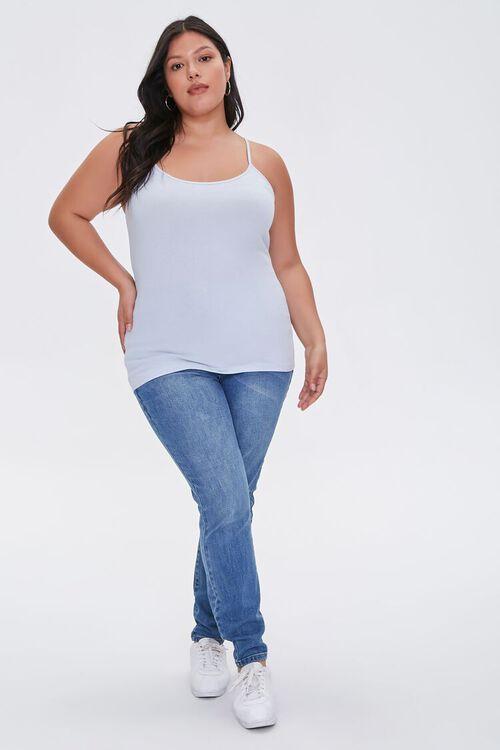 Plus Size Organically Grown Cotton Basic Cami, image 4