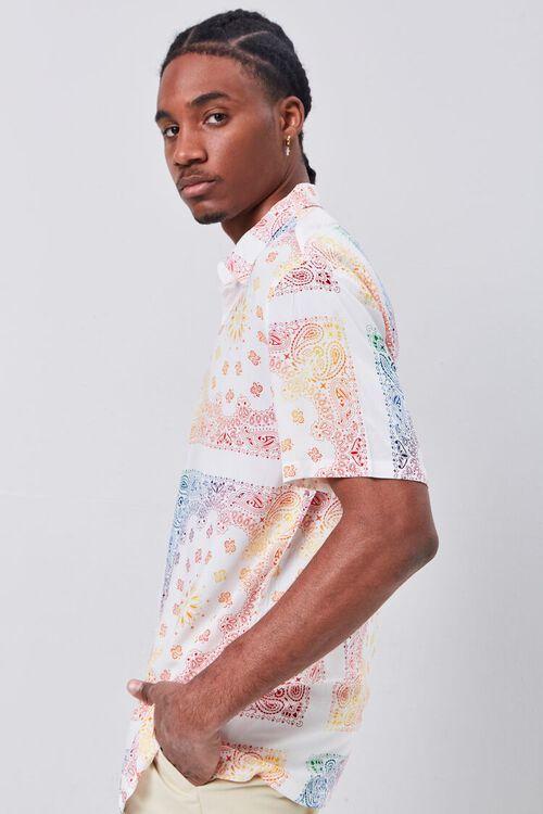 Classic Fit Ornate Print Shirt, image 2