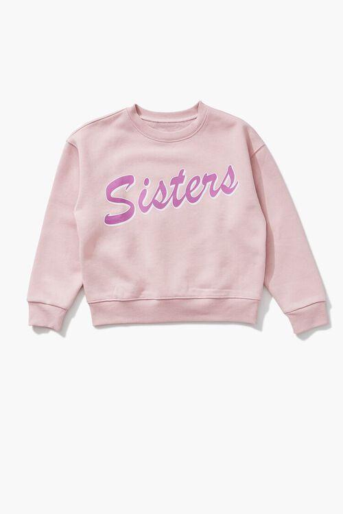 PINK/MULTI Girls Sisters Sweatshirt (Kids), image 1