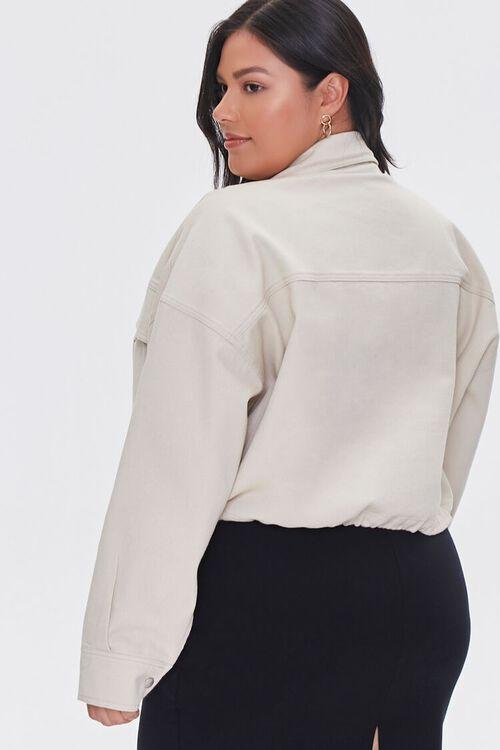 Plus Size Drop-Sleeve Jacket, image 3