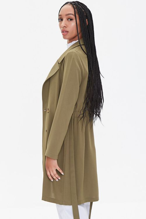 Double-Breasted Duster Jacket, image 2