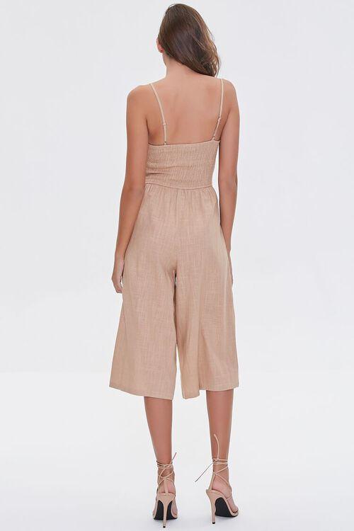 Knotted Cutout Culotte Jumpsuit, image 3
