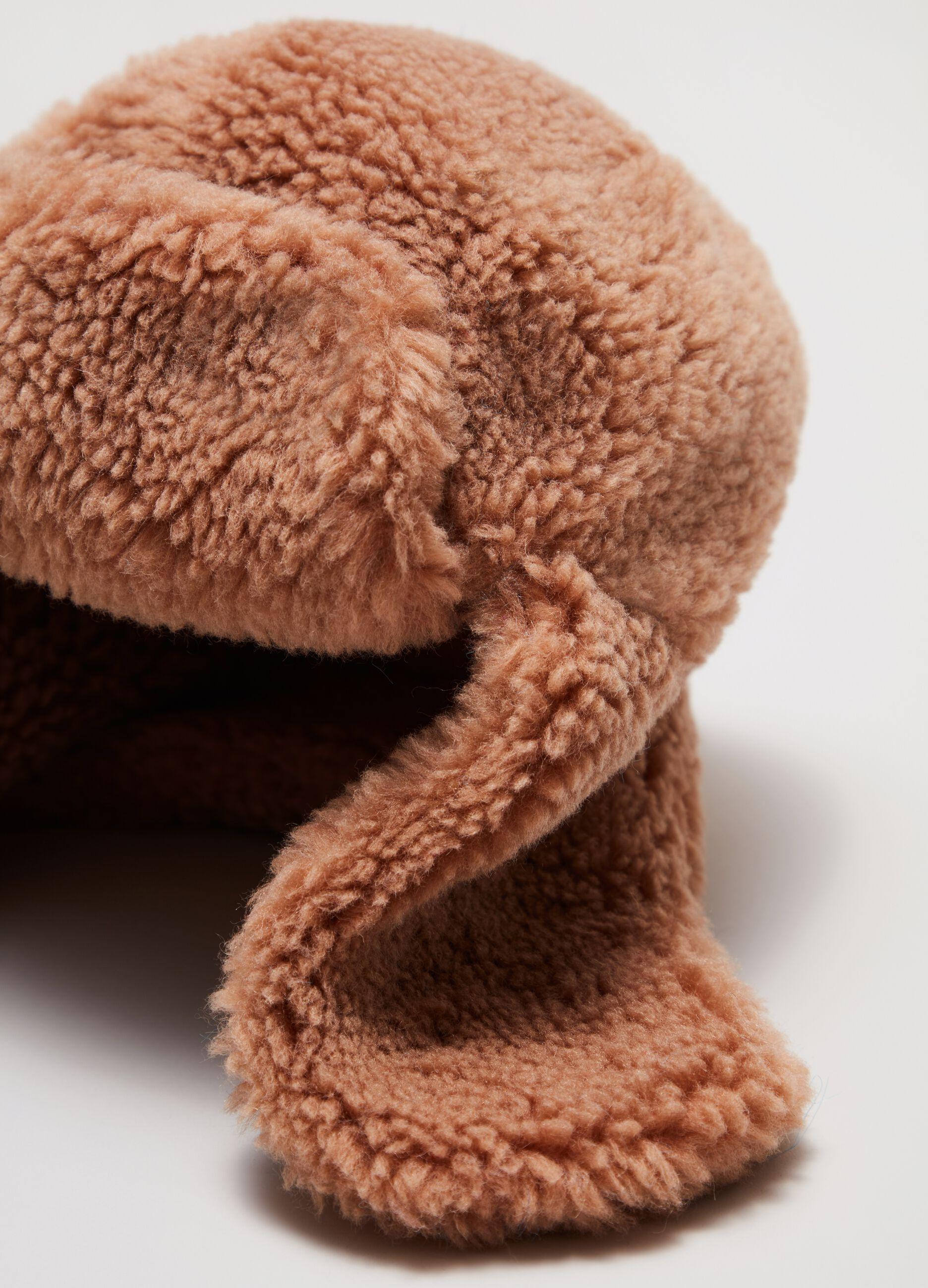 Berretto teddy aviatore Marrone