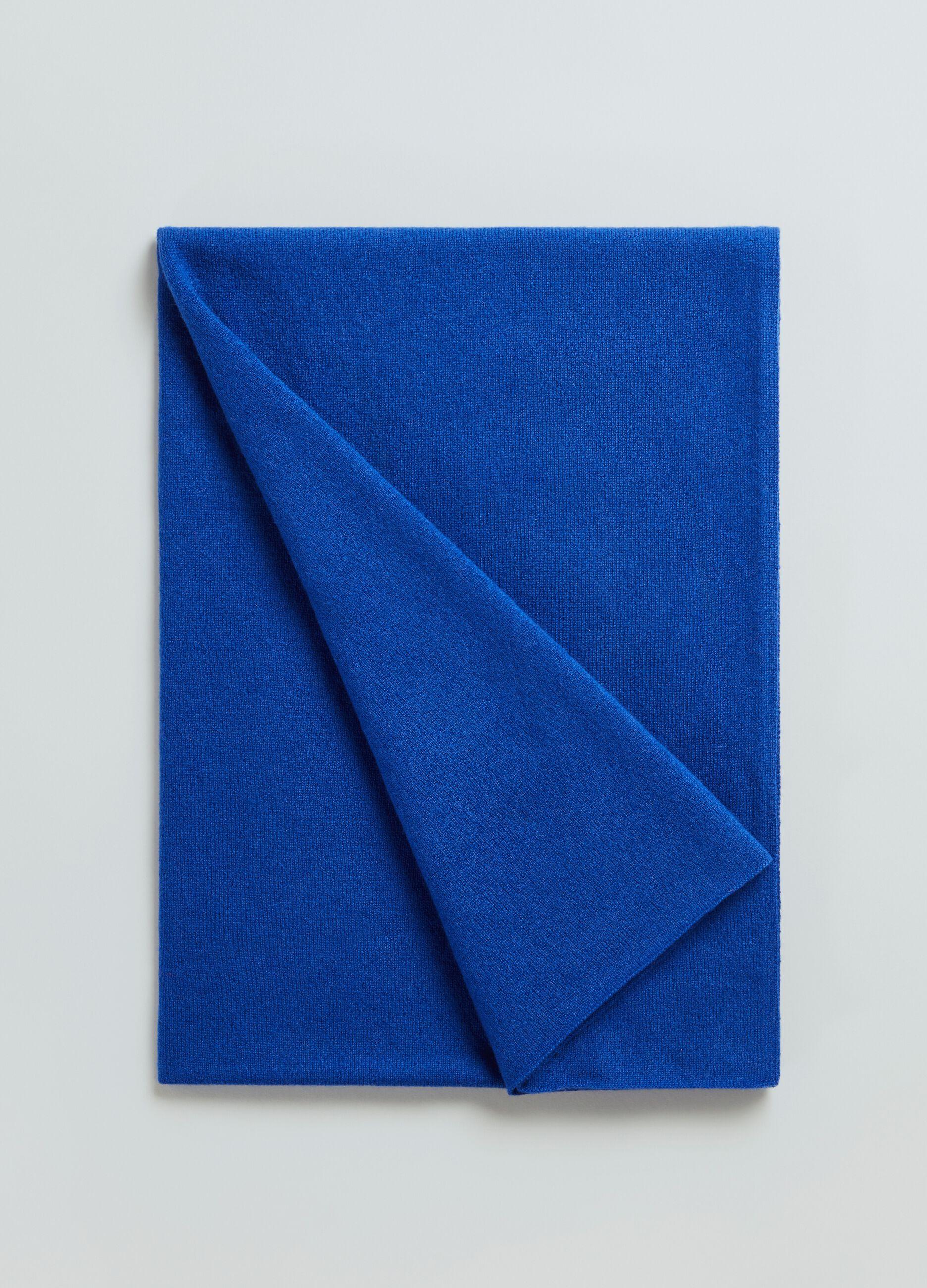 Sciarpa in cachemire Blu