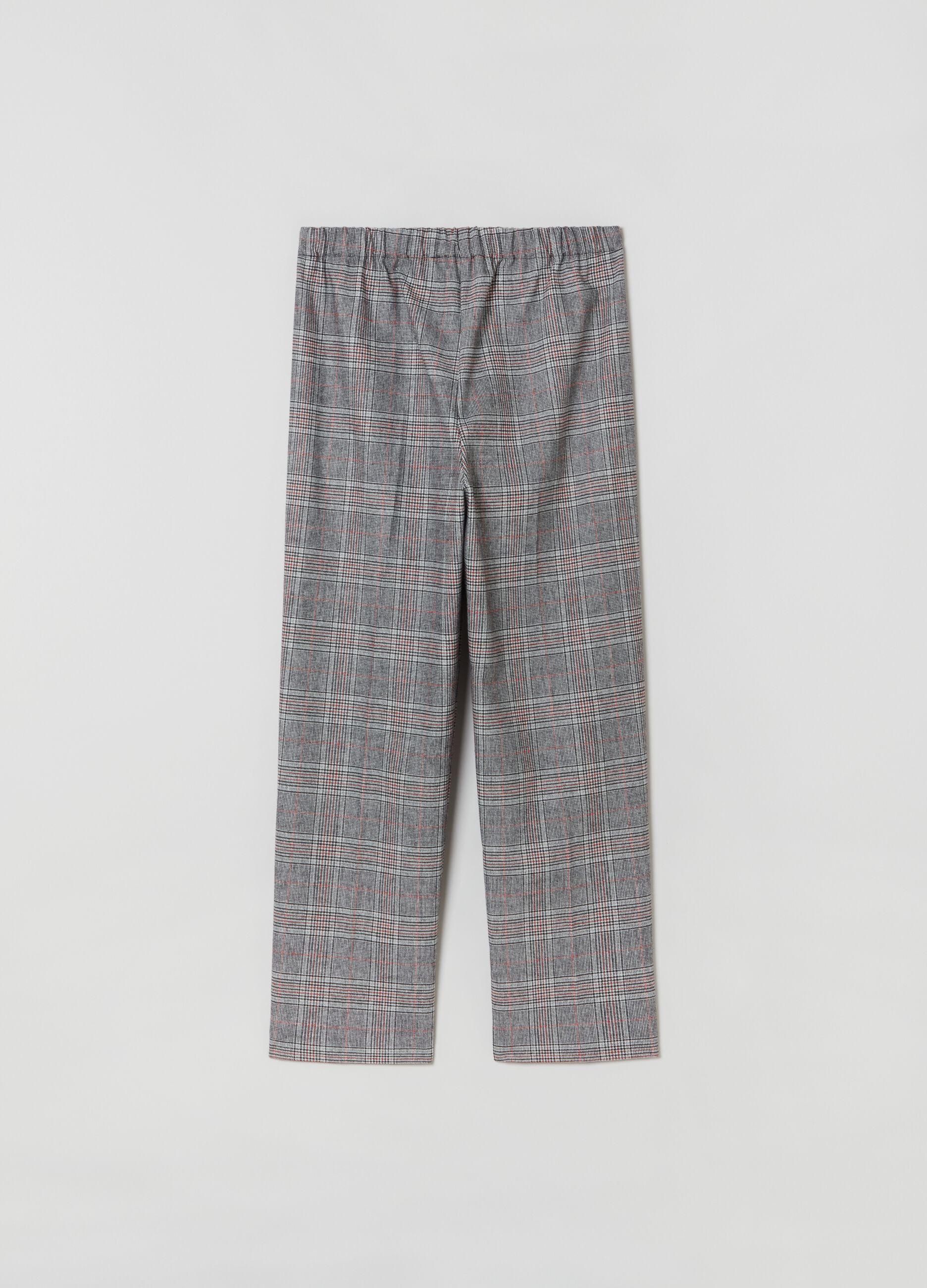 Pantalone in principe di Galles Multicolor
