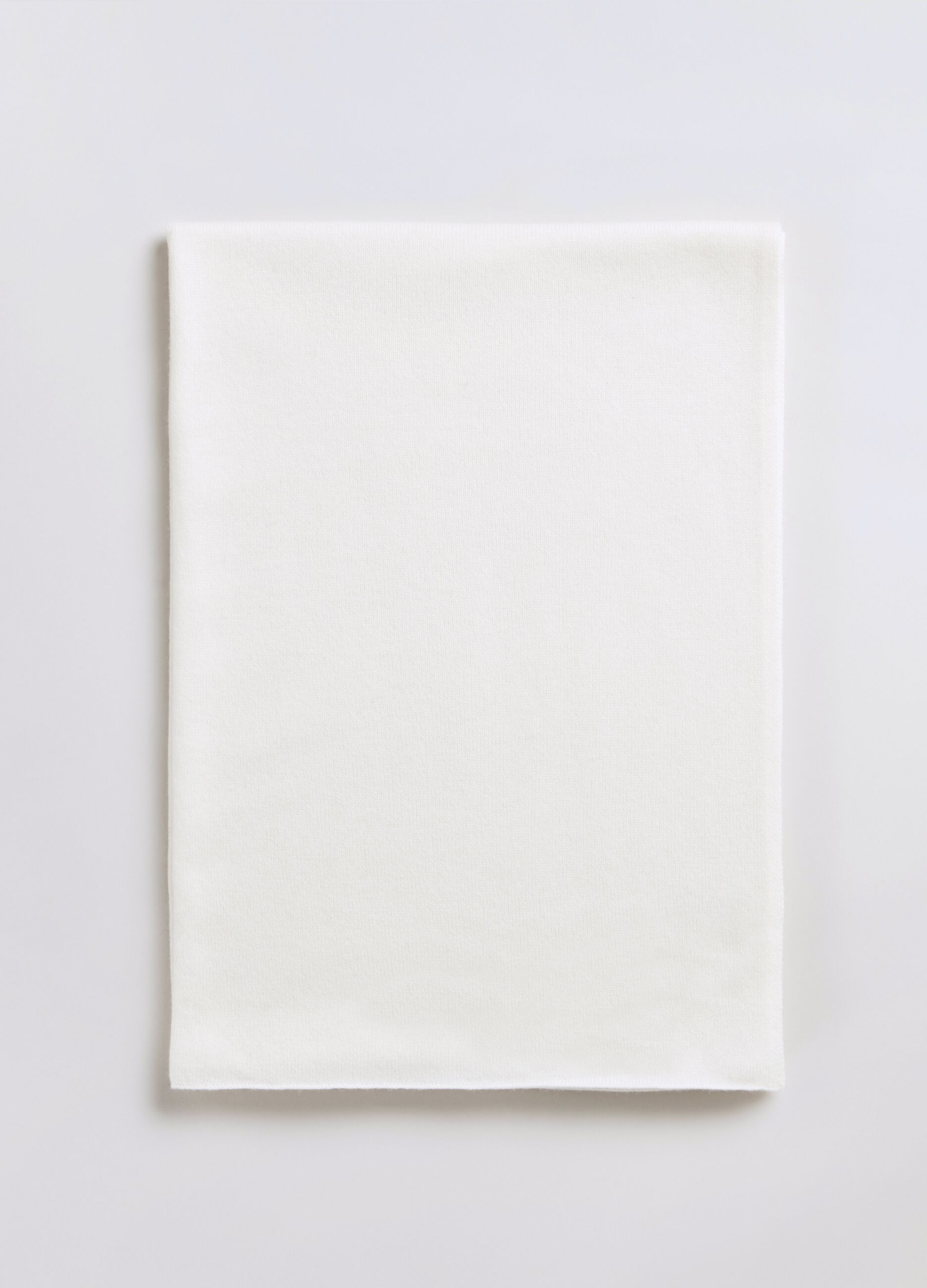 Sciarpa in cachemire Bianco