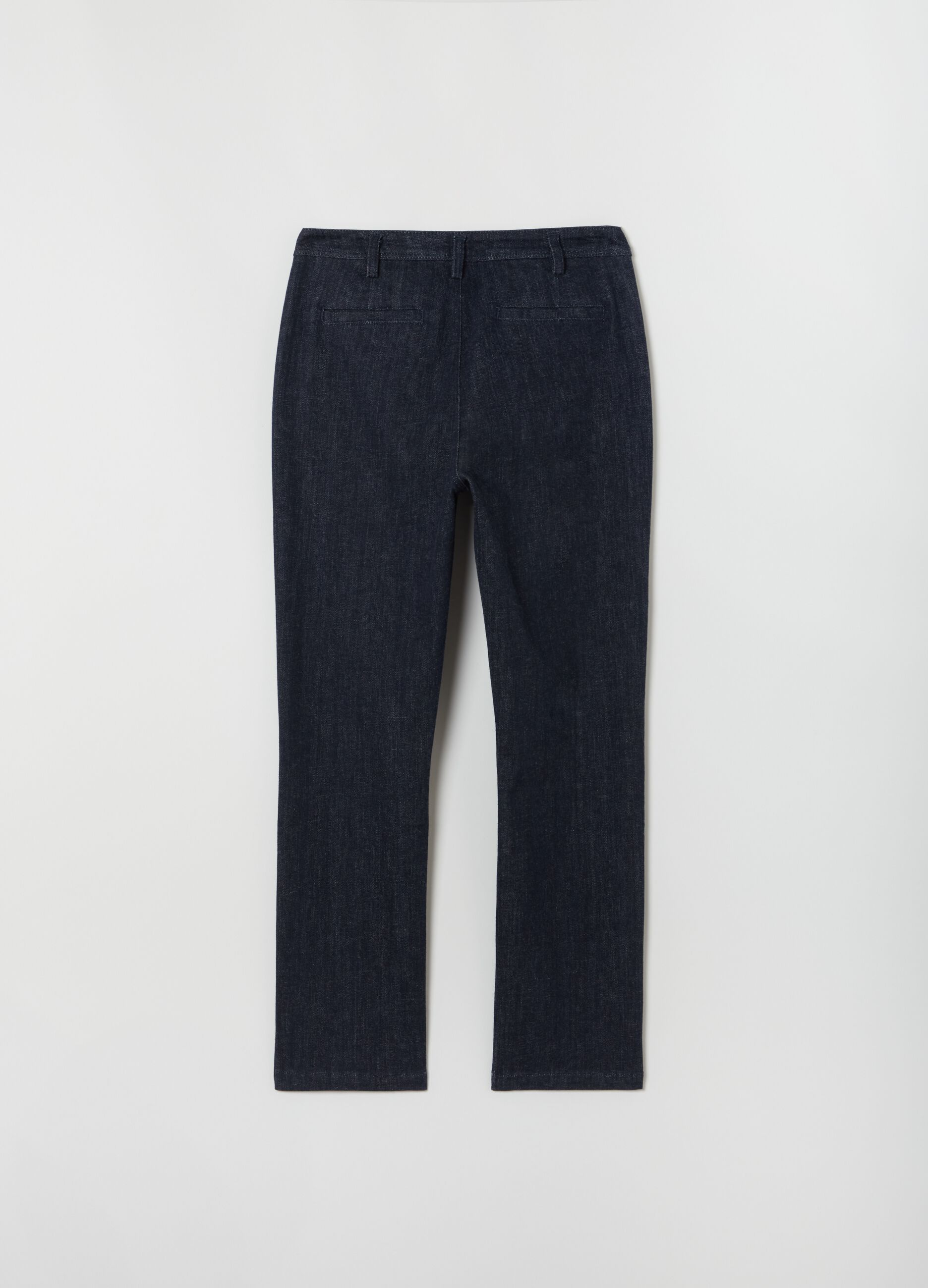 Pantalone chino in denim Denim