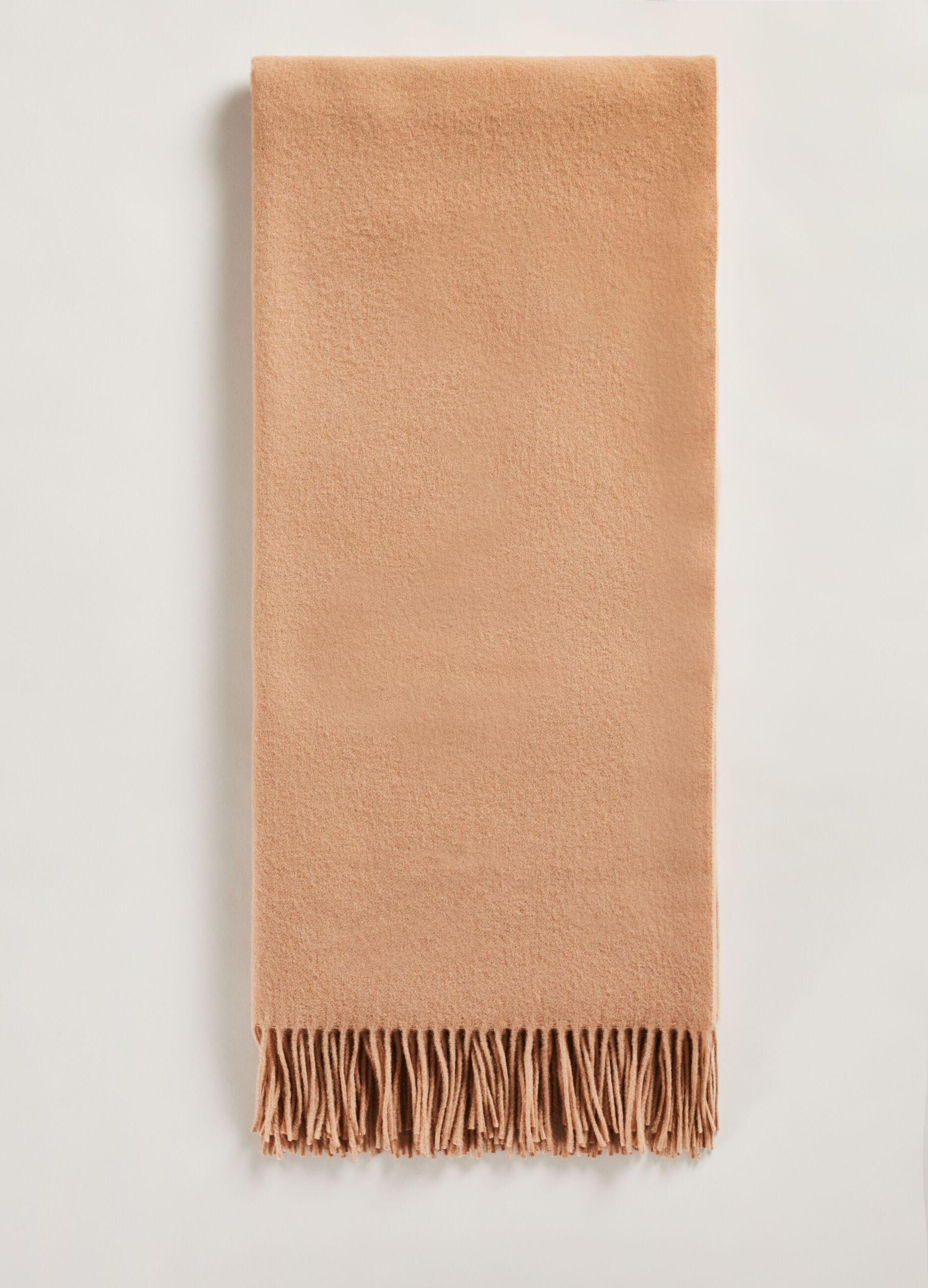 Sciarpa in pura lana vergine Marrone