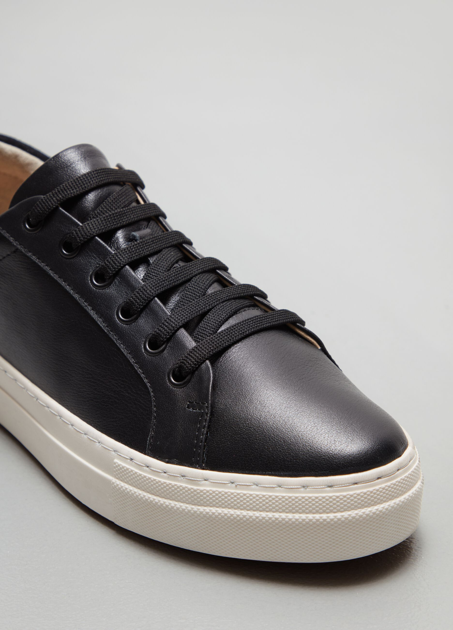Sneakers stringate in pelle Multicolor