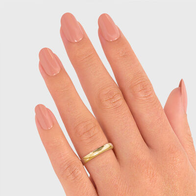 Ladies Wedding Band in 18K Yellow Gold, , large image number null