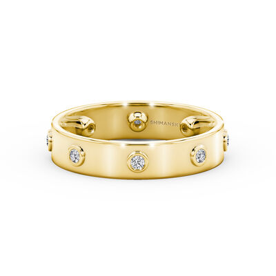 Caesar Classic Diamond Ring in 18K Yellow Gold, , large image number null